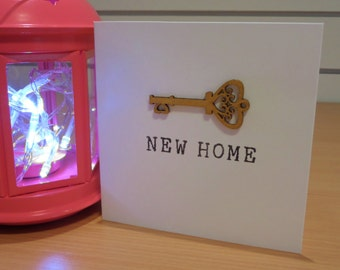 New Home Handmade Greetings Card