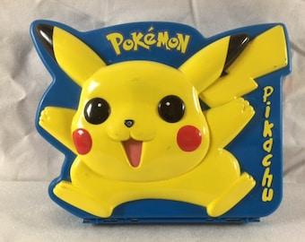 Vintage Pokemon Lunch Box - Pikachu