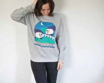 SALE!! Vintage Farm Sweatshirt | Counting Sheep to Sleep