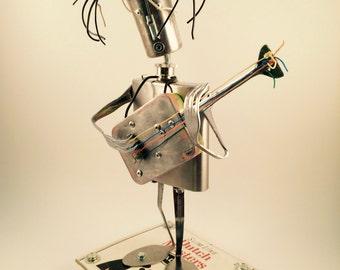 Guitar player robot