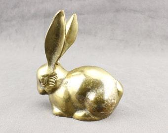 Adorable Brass Rabbit
