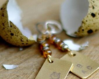 Teacher gift jewelry Book lover gift Asymmetrical owl earrings Bookworm rectangle earrings Dangle drop earrings