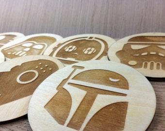 Star Wars Coasters, Star Wars Icon Coasters