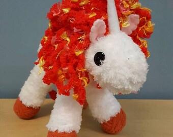 Handmade Firey Unicorn