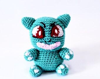 Crochet Bulbasaur Pattern PDF immediate download