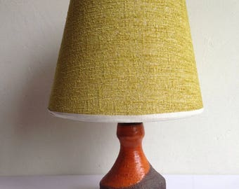 Beautiful Vintage Fat Lava Table Lamp 1970s Germany