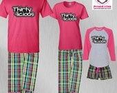 Birthday Pajamas Thirtyli...