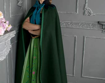 Anna Frozen cape - Anna Frozen cosplay - Anna cloak - Disney cosplay