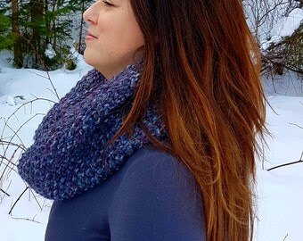 """Inverness Infinity Cowl: """"Abalone"""""""