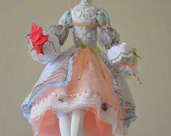 Fairy Doll  - Art Dolls - OOAK Art Doll -  Hand made doll - Milena