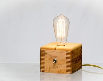 Maple Ambrosia Edison Lamp