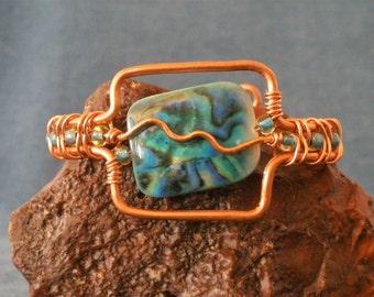 Stunning Copper Cuff Bracelet