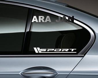Pcs SPORT NURBURGRING Vinyl Decal Sticker Racing Sport Car - Lexus custom vinyl decals for car
