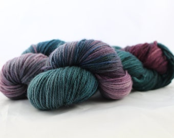 Enchanted Forest - Worsted Weight - Doreen Base - 100% Merino - 220 Yards/100 Grams