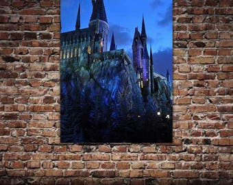 The Castle at Twilight Poster