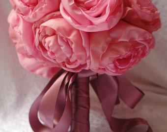 Peony bouquet, bridal bouquet