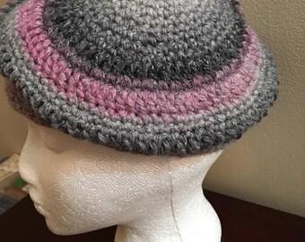 Handmade Crochet Beret Style Hat