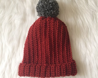 Woman's Ribbed Beanie