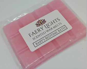 Wax Melts, Baby's Bedtime Bath, Delicate Lavender Scent, Scented Wax Melts, Wax Tarts, Home Fragrance, Suitable for any wax melter.
