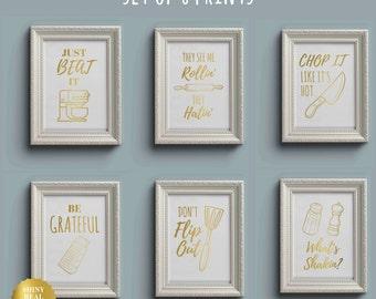 Kitchen poster | Etsy