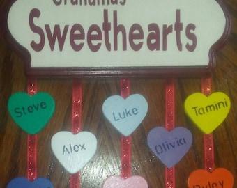 Grandma's Sweethearts Wall Decoration