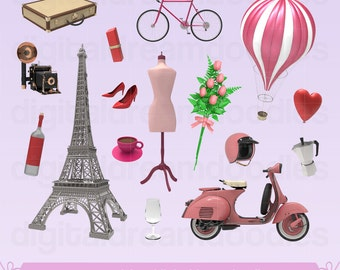 Paris Clipart Clip Art Eiffel Tower France French