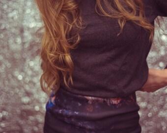 Abstract Mini Skirt (S)