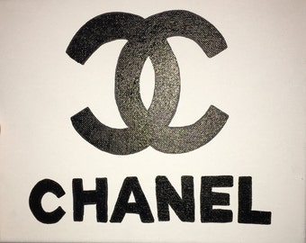 Chanel Logo Painting