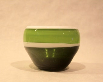 Sparkly Green Incalmo Bowl