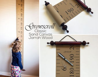 Growscroll ® Growth Chart / Height Chart - Classic