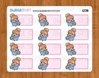 Phone Call Planner Stickers (G1718)
