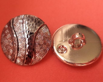 14 buttons silver 18mm (3377) button