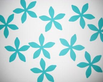 Paper flowers, die cut flowers