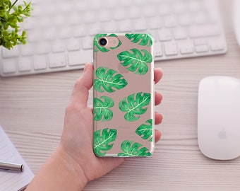 Summer Leaves iPhone Case, Leaves PhoneCase,  Art iPhone Case, 5/5s/SE, iPhone 6/6s, iPhone 6Plus/6sPlus, 7/7Plus