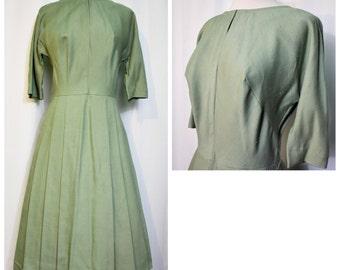 R&K Originals Green 50s Dress