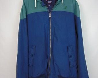 Vintage Blue/Green KANGOL Jacket