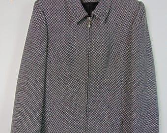 Vintage Black/White Jacket