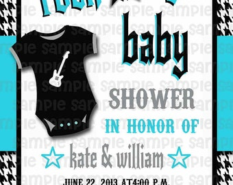 DIGITAL Rock a Bye Baby Shower Invitation