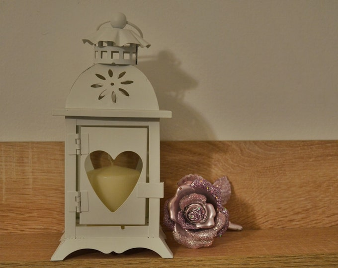 10%OFF Vintage Lantern with heart /wedding lanterns lantern / Rustic lantern / Lanterns / wedding lantern centerpiece