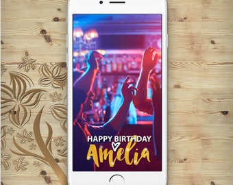 Birthday party geofilter Birthday party snapchat Birthday party snap filter Birthday snap chat filter A1