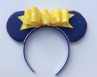 Snow White Mickey Ears, Snow White, Mickey Mouse, Minnie Mouse, Mickey Ears