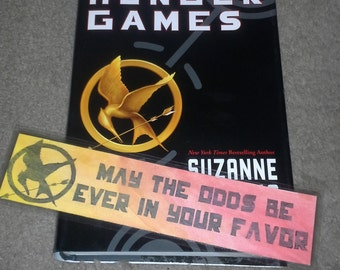 May the Odds Hunger Games Bookmark