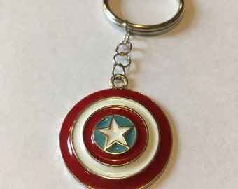 Captain America Avengers keyring