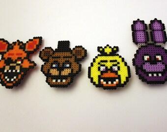 Five Nights At Freddy's Mini Perler Bead Set
