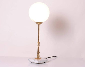 art deco lamp / office bedside lounge/luminaire french retro/1950