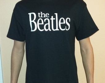 THE BEATLES T-shirt 100 % Cotton and 1 stisker Free