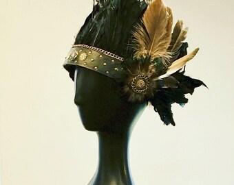 Tribal Feather Festival Headdress
