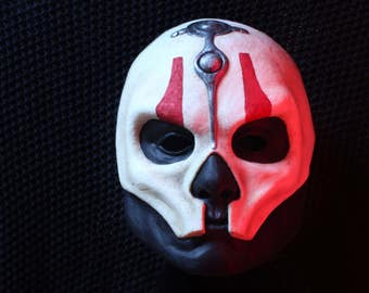 Darth Nihilus Mask - Polyurethane Resin Game Accurate Mask