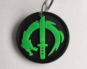 Genji Inspired Keychain