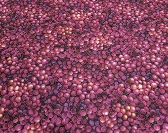 Wine Connoisseur-Purple Grapes Cotton Fabric from Kanvas Studios